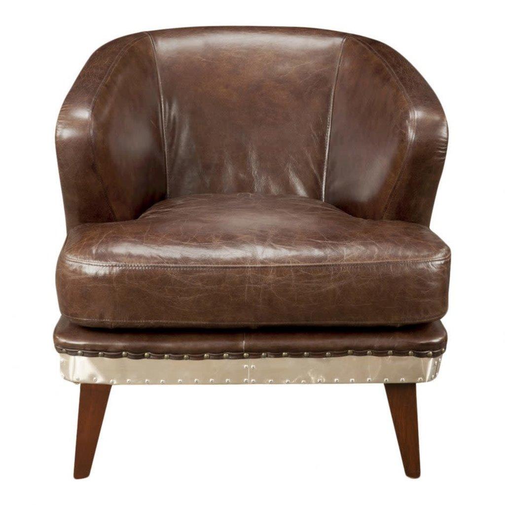 Club chair - PRESTON BROWN -  MS