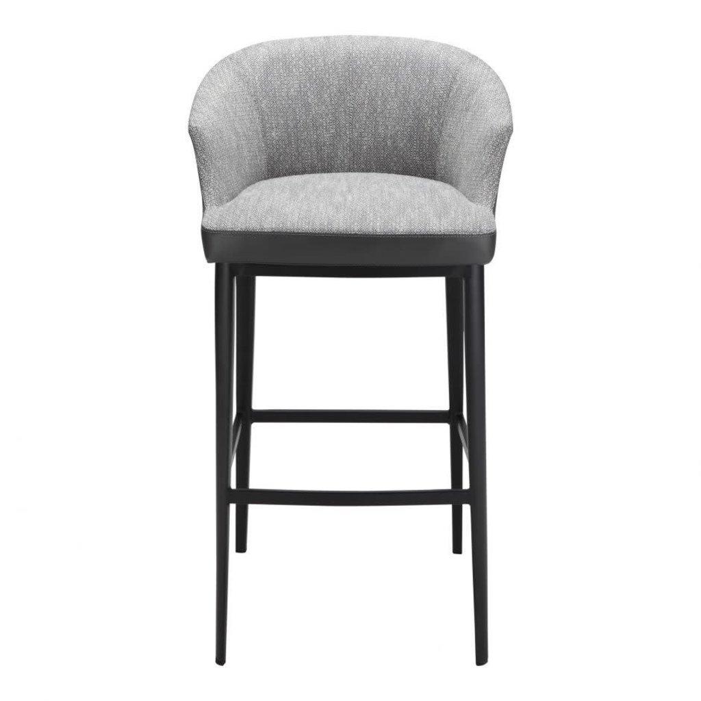 Bar stool -  BECKETT GREY - MS
