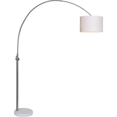 Floor lamp - CASSELL WHITE/SILVER - RW