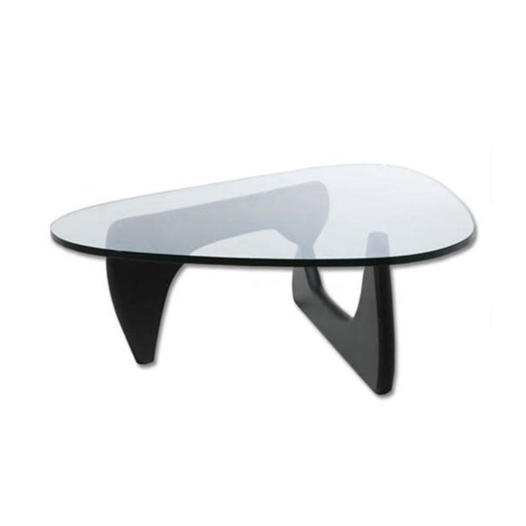 COFFEE TABLE - NATURA GLASS/BLACK - MB