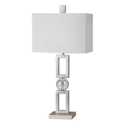 Table lamp - DAVOS MATTE NICKEL - RW