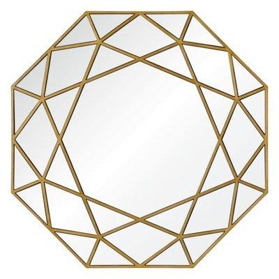 """Mirror - DELORO GOLD 40""""X40"""" - RW"""