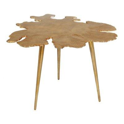 MOE'S AMOEBA SIDE TABLE GOLD