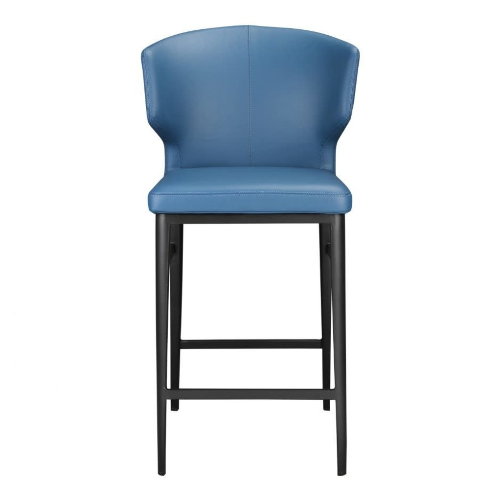 MOE'S Bar Stool - DELANEY BLUE - MS