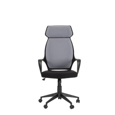 OFFICE CHAIR -  TRACK HIGH BACK GREY