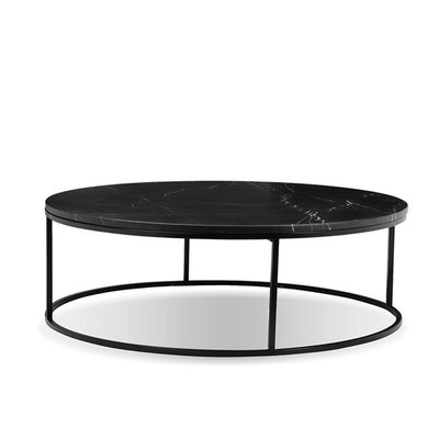 COFFEE TABLE - ONIX BLK ROUND - MB