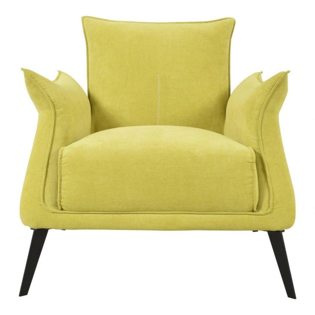 Arm chair - VERONA YELLOW - MS