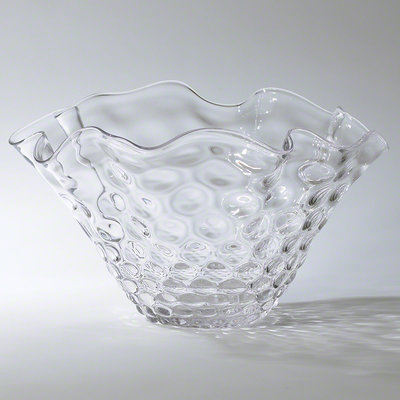 GLOBAL VIEWS GV - HONEYCOMB OPTIC WAVY - Decorate Bowl