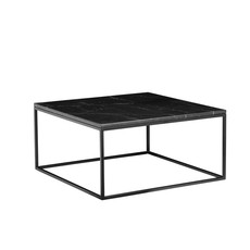 COFFEE TABLE - Onix Black Marble Square - MB