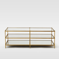 COFFEE TABLE - Terrace GOLD RECTANGLE
