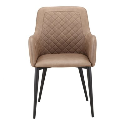 MOE'S CANTATA DINING CHAIR BROWN