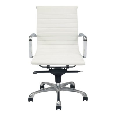 Office chair - OMEGA LOW WHITE - MS