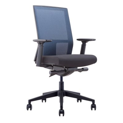 Office chair - HALPERT BLK MESH - MS