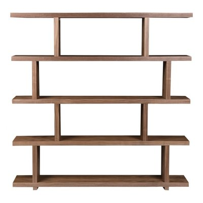 Bookshelf - MIRI SHELF WALNUT LG - MS