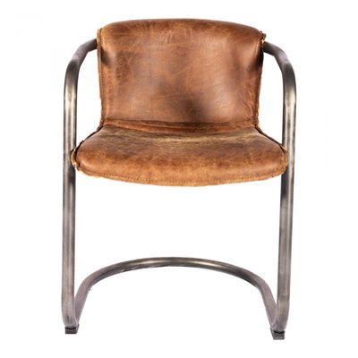 Dining chair - BENEDICT BROWN-M2 - MS