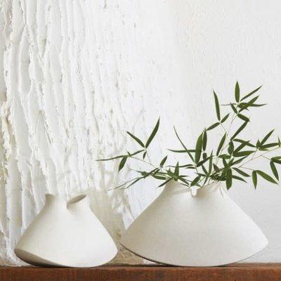 GV - UNDER THE SEA VESSEL RUSTIC WHITE SM - Vase