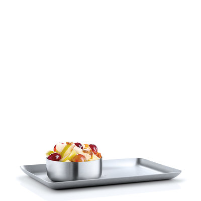 BLOMUS STAINLESS STEEL TRAY 13X22 CM