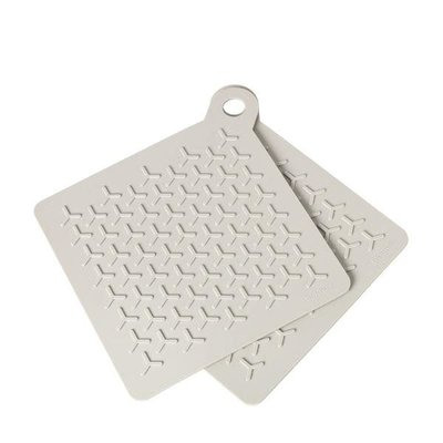 BLOMUS BS - POTHOLDERS 2PK MOONBEAM SQUARE
