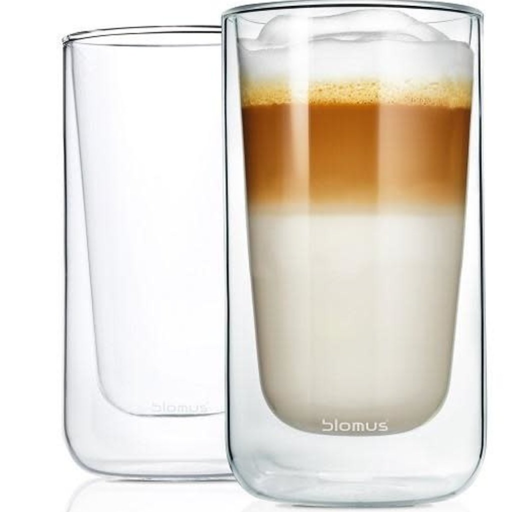 BLOMUS BS - NERO GLASS 2PC 10OZ