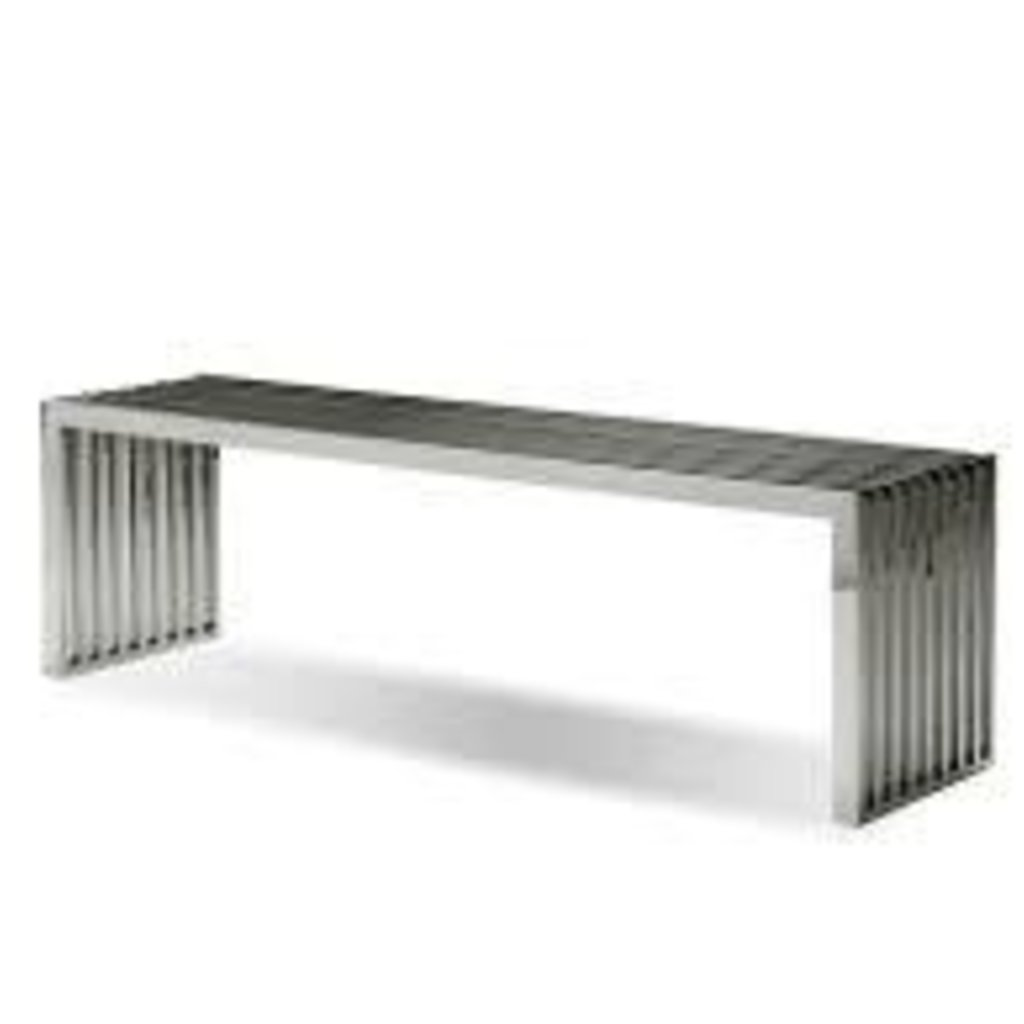 BENCH - AXEL STAINLESS SILVER - MB