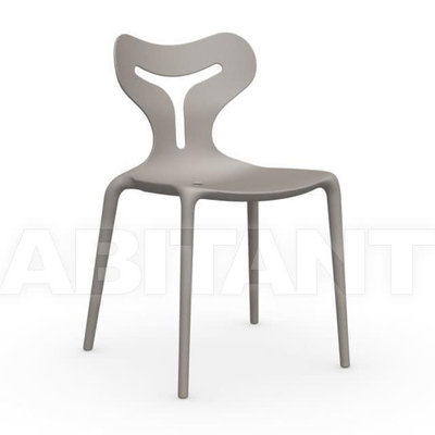 CONNUBIA Dining chair - AREA 51 MATT PLASTIC TAUPE - CB