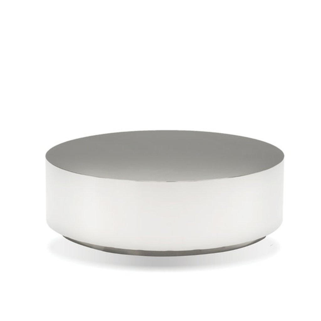 COFFEE TABLE - SPHERE STAINLESS STEEL ROUND - MB