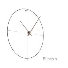 CLOCK - BILBAO N Walnut/Black - NM