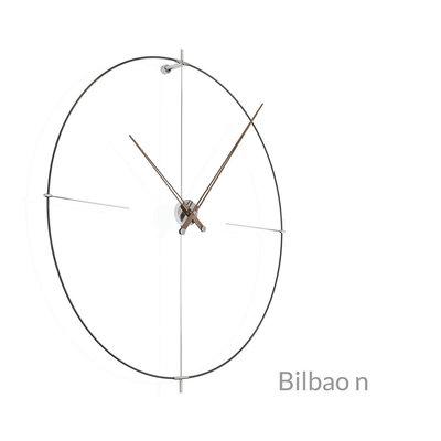 NOMON CLOCK - BILBAO N Walnut/Black - NM