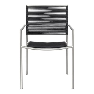 Out door - Brynn Outdoor Dining Chair Black-m4 - MS