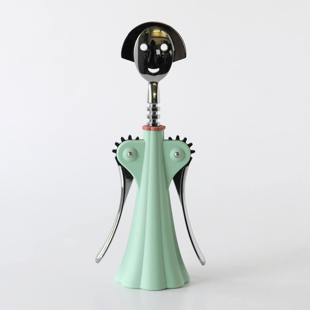 ALESSI AI - ANNA G CORKSCREW LIGHT GREEN