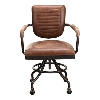 CHAIR - FOSTER DESK CHAIR SOFT BROWN - MS