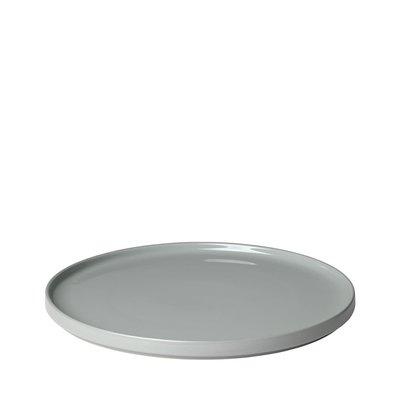 BLOMUS PLATE SERVING GREY 35 CM