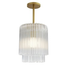 CL LAMP - Royalton Small Pendant Polished Nickel - AR