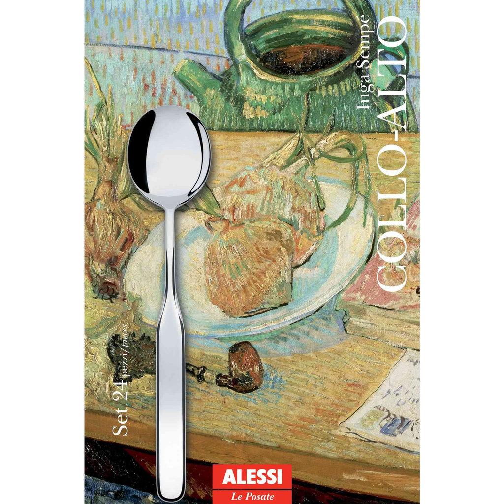 ALESSI AI - Cutlery set 24 pieces Collo-alto