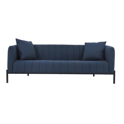 MOE'S JAXON DARK BLUE SOFA