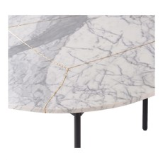 MOE'S LAVA MARBLE COFFEE TABLE LARGE