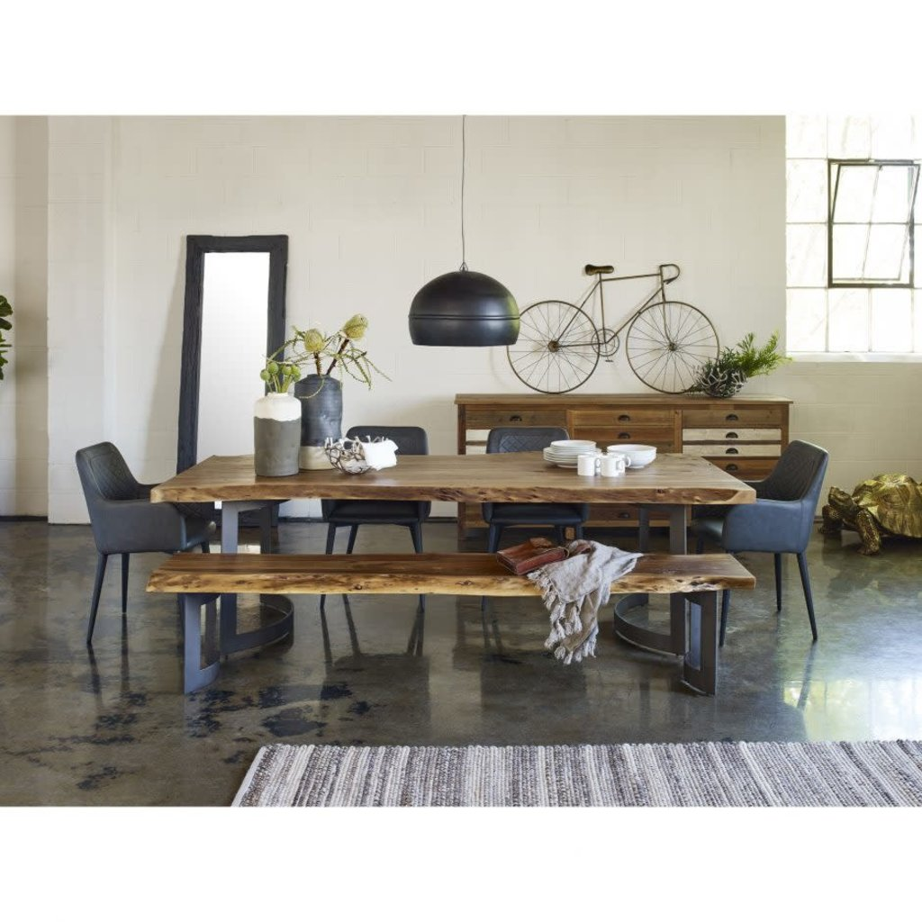 MOE'S CANTATA DINING CHAIR BLACK
