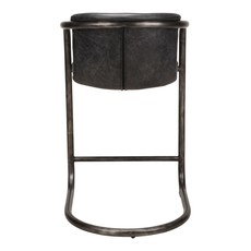MOE'S FREEMAN COUNTER STOOL ANTIQUE BLACK