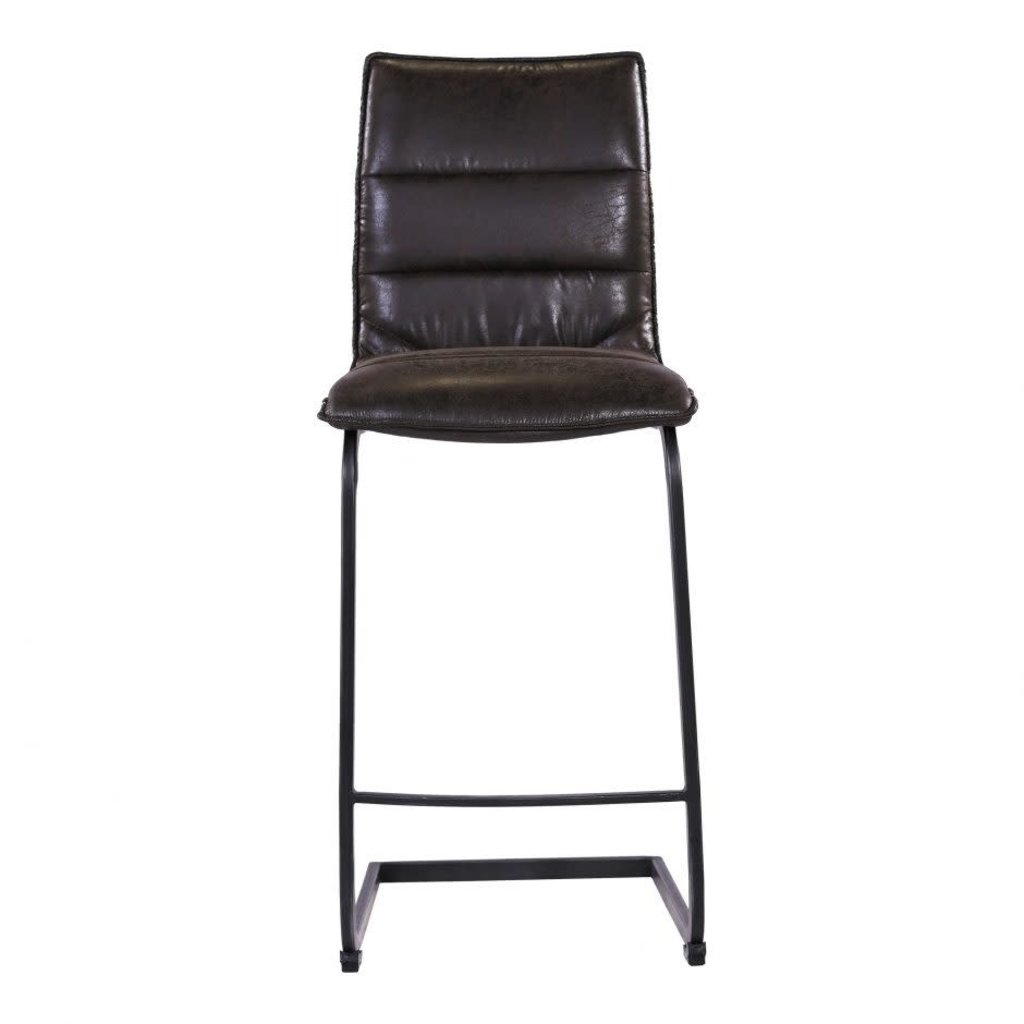 MOE'S RADIANT COUNTER STOOL BLACK