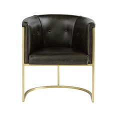 ARTERIORS ARM CHAIR - CALVIN BLACK - AR