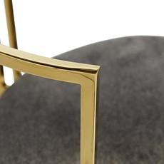 ARTERIORS ARM CHAIR - ZEPHYR GREY/GOLD - AR