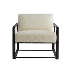 ARTERIORS ARM CHAIR - VINCE LOUNGE FROST CHENILLE - AR