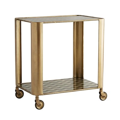 ARTERIORS BAR CART - TINSLEY GOLD - AR