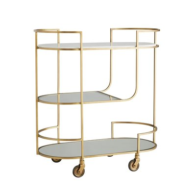 ARTERIORS BAR CART - TRAINOR GOLD - AR
