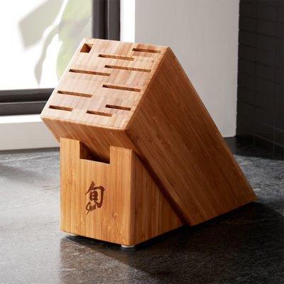SHUN SHUN - 11 Slot Bamboo Block