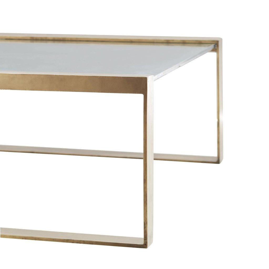ARTERIORS COFFEE TABLE - JOCELYN GOLD/GLASS - AR