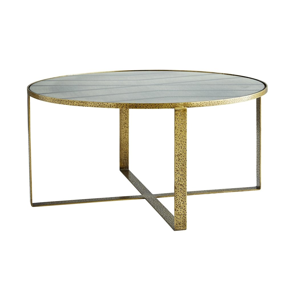 ARTERIORS COFFEE TABLE - NOMAD GOLD/GLASS - AR