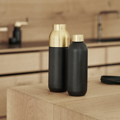 STELTON COLLAR TERMO BOTTLE 0.75L, BLACK