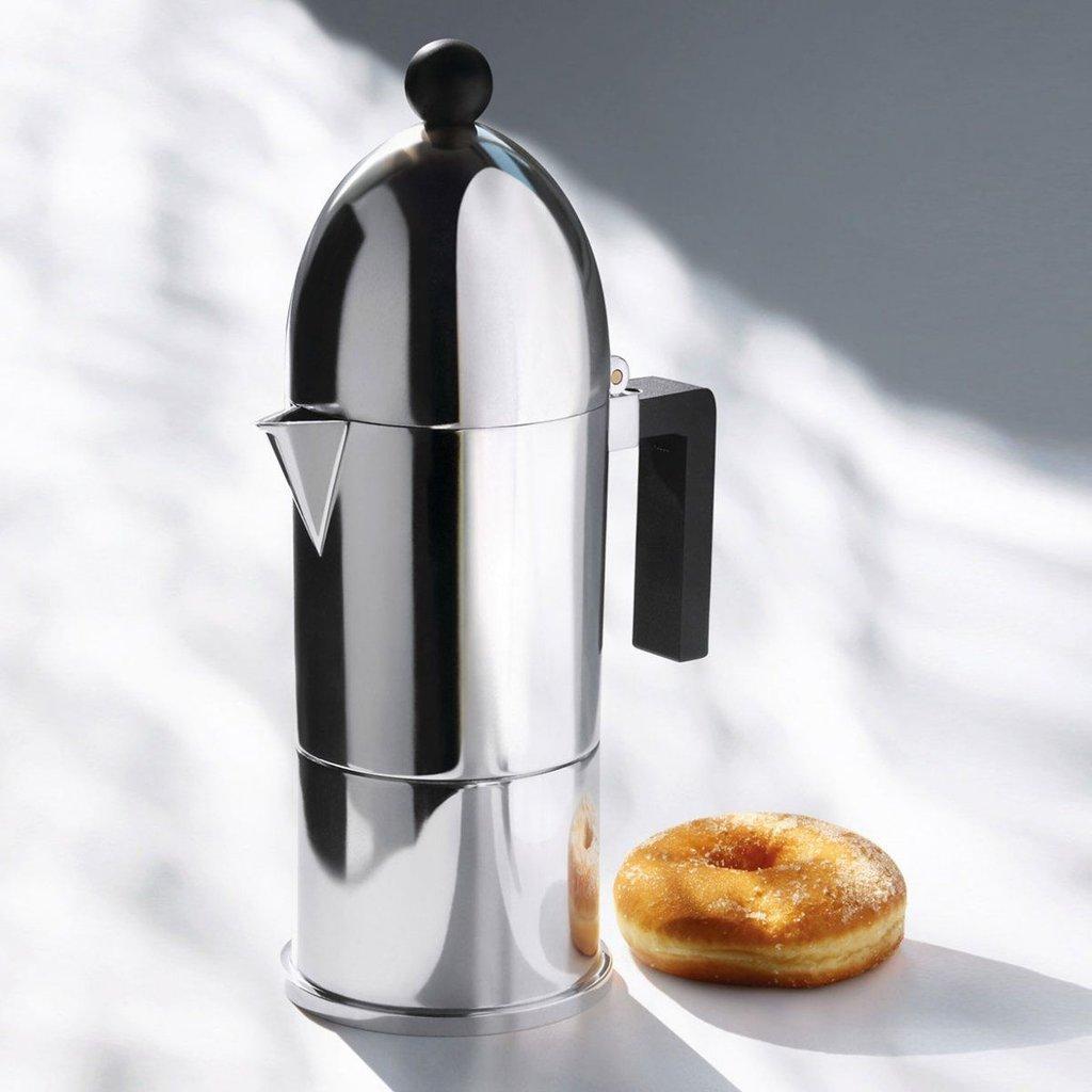 ALESSI AI - Espresso coffee maker 3 cups - La cupola