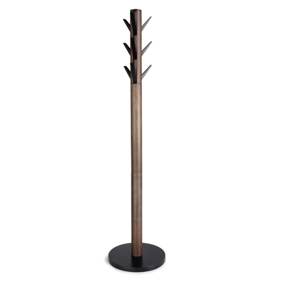 UMBRA FLAPPER COAT RACK BLACK/WALNUT